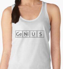 Genius Chemical Elements Symbols Women's Tank Top
