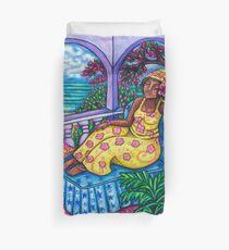 Caribbean Meditation Duvet Cover