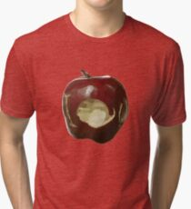 Moriarty's IOU apple - Sherlock Tri-blend T-Shirt