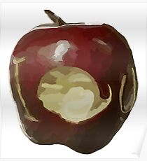 Moriarty's IOU apple - Sherlock Poster