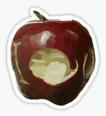 Moriarty's IOU apple - Sherlock Sticker