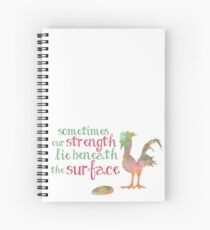 strength within Spiral Notebook
