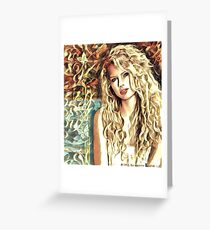 Taylor Swift Debut Album Edit Greeting Card