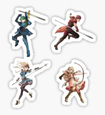 Fire Emblem Echoes: Shadows of Valentia Alm Sticker Set Sticker