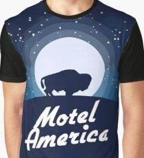 American Gods - Motel America Graphic T-Shirt