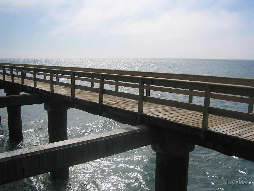 Bridge to Nowhere by J.L. Calder