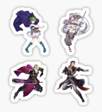 Fire Emblem Sticker Set- Nino, Xander, Reinhardt, Olivia Sticker