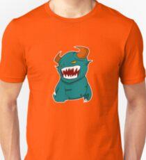 Coloured Cartoon Monster Unisex T-Shirt