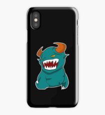 Coloured Cartoon Monster iPhone Case/Skin