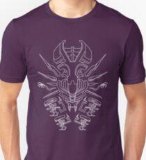 Aztec Alien Queen Unisex T-Shirt