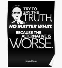Versuche die Wahrheit zu sagen (2) Poster