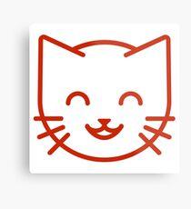 relax kitty Metal Print