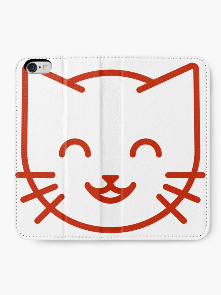 Alternate view of relax kitty iPhone Wallet