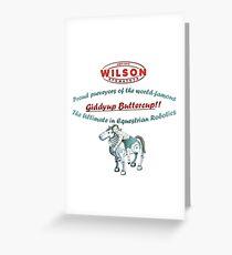 Wilson Atomatoys Corporate Merchandise Greeting Card