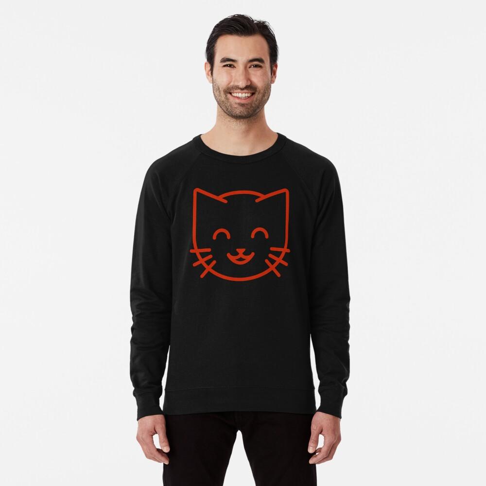 relax kitty Lightweight Sweatshirt