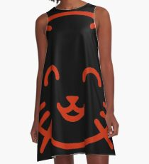 relax kitty A-Line Dress