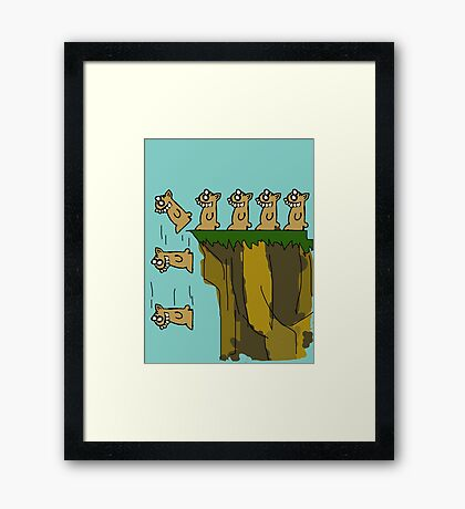 Rodent Death  Framed Print