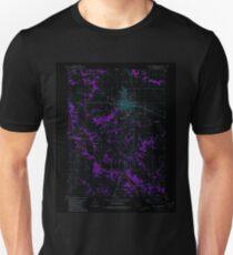 USGS TOPO Map Iowa IA Mount Pleasant 175211 1981 24000 Inverted Unisex T-Shirt