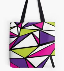 Triangle Abstract Tote Bag