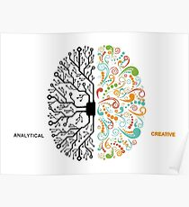 Analytic creative Poster