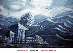land scape 03 by Abdelaziz Alsamahy