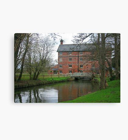 Sopley Mill Canvas Print
