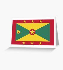 Grenada Flag Greeting Card