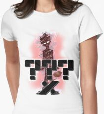 MOB PSYCHO ???% Womens Fitted T-Shirt
