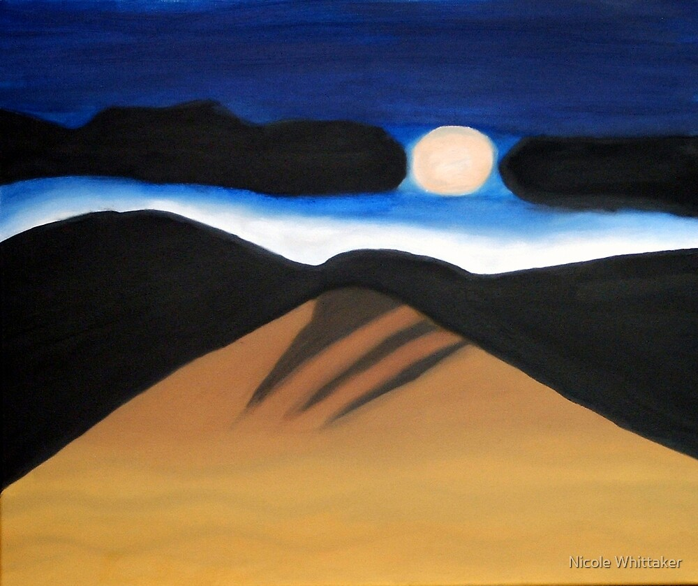 Desert Night by Nicole Whittaker