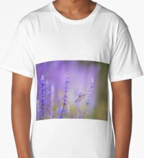 Flowers with cute insect Long T-Shirt