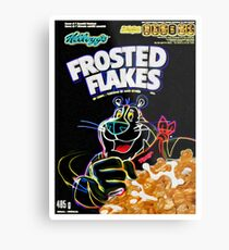 Frosted Flakes Metal Print