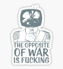 Prince Robot Fucking War Sticker