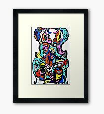 All the lonely people Framed Print