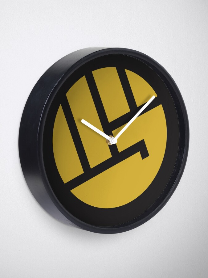 Alternate view of heropunch Clock