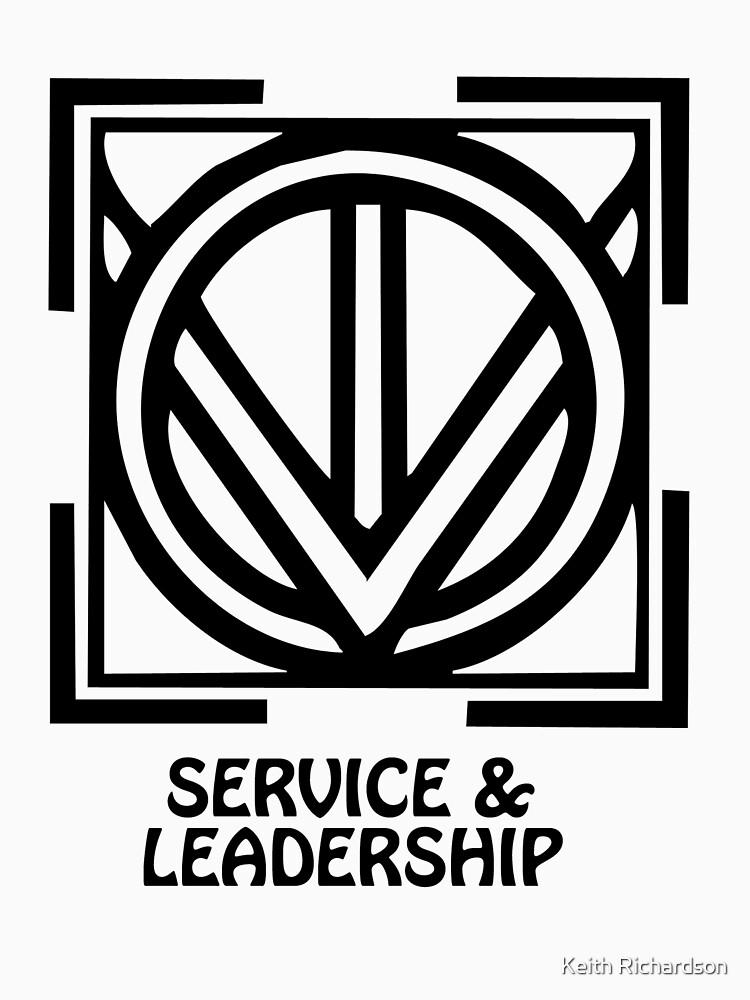 T Shirt Adinkra Symbol Service Leadership Unisex T Shirt By