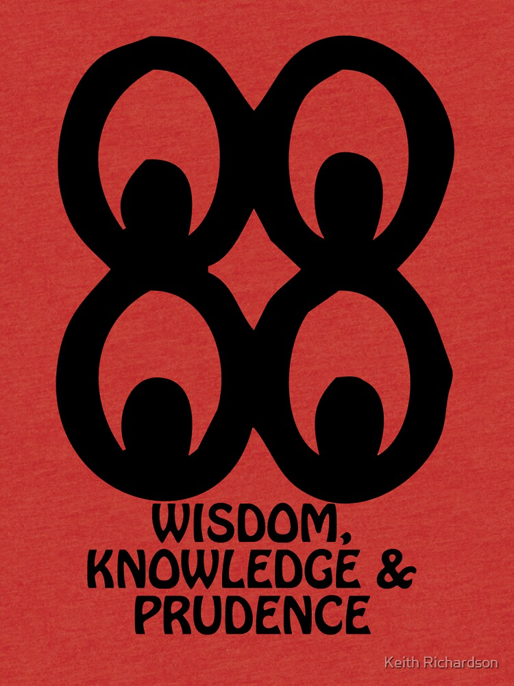 T Shirt Adinkra Symbol Wisdom Knowledge Tri Blend T Shirt By