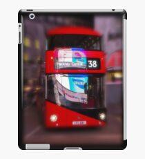 Big Red Bus iPad Case/Skin