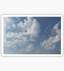 HDR Composite - Sky and Clouds Sticker
