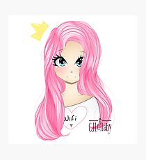 New LDShadowLady Minecraft Youtuber Cute Fanart Drawing Photographic Print