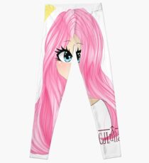 New LDShadowLady Minecraft Youtuber Cute Fanart Drawing Leggings