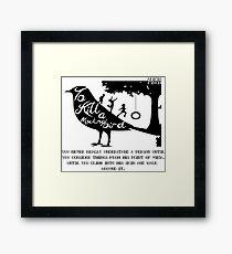 To Kill A Mocking Bird Framed Print