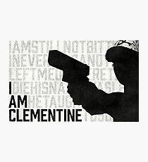 TWDG I Am Clementine Photographic Print
