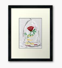 Beast's Rose  Framed Print