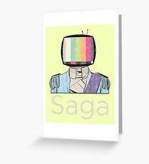 Saga Prince Greeting Card