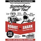 Robot vs. Shark by robotrobotROBOT