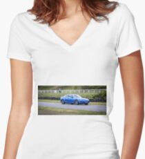 Mazda RX-8  Women's Fitted V-Neck T-Shirt