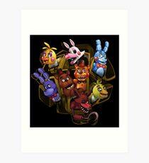 Five Nights at Freddy's 2 Art Print