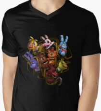 Five Nights at Freddy's 2 Men's V-Neck T-Shirt