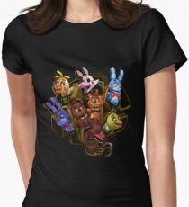 Five Nights at Freddy's 2 Women's Fitted T-Shirt