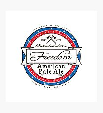 Assassin's Creed, Freedom beer label Photographic Print